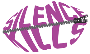 silence kills zipped lips